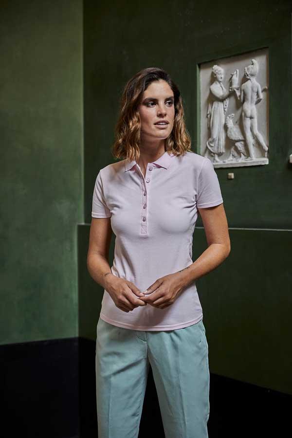 Ženska polo majica kratek rokav Tee Jays Ladies Luxury Stretch Polo