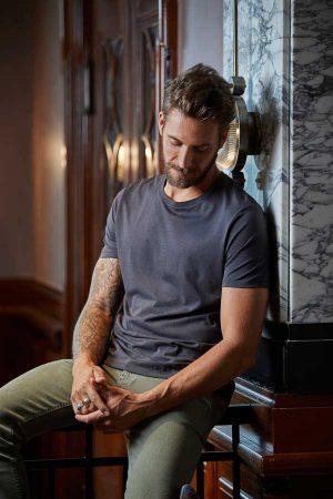 Majica kratek rokav Tee Jays Luxury Tee