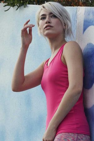 Ženska športna majica brez rokavov FOTL Ladies Performance Vest