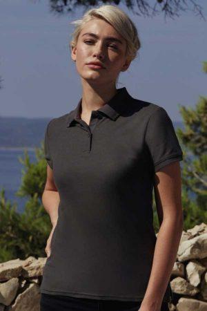 Ženska polo majica kratek rokav FOTL Ladies Premium Polo