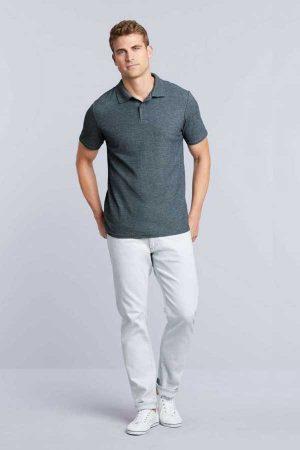 Polo majica kratek rokav Gildan Softstyle® Adult Double Pique Polo