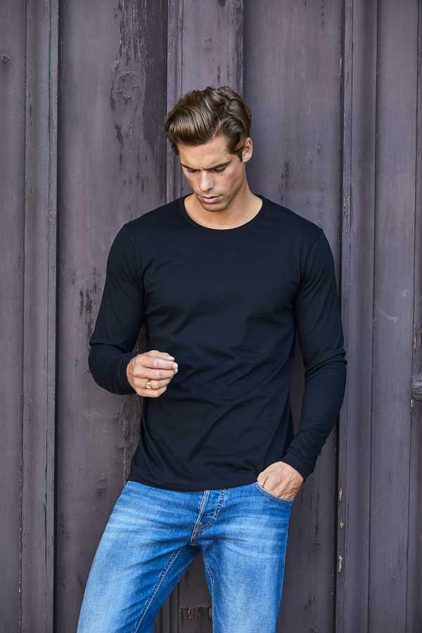 Majica dolg rokav Tee Jays Long Sleeve Fashion Sof Tee