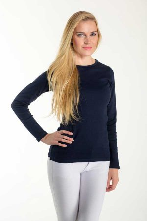 Ženska majica dolg rokav Eurowear Ladies T-Shirt Interlock Long Sleeve