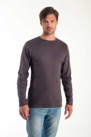 Majica dolg rokav Eurowear Men T-Shirt Interlock Long Sleeve