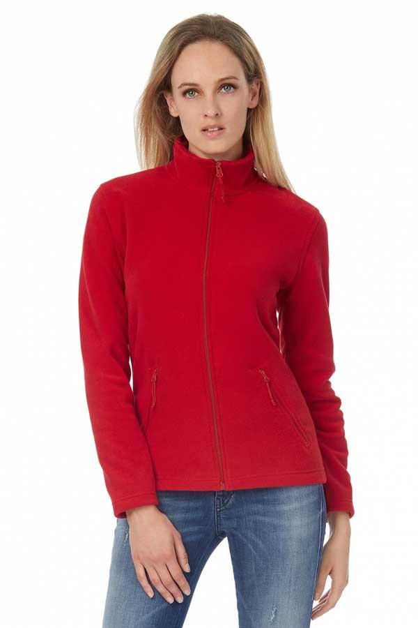 Ženski flis B&C ID.501/women Micro Fleece Full Zip