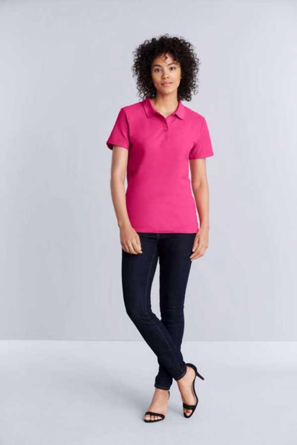 Ženska polo majica kratek rokav Gildan Softstyle® Ladies' Double Pique Polo