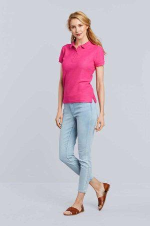 Polo majica kratek rokav Gildan Premium Cotton® Ladies' Double Pique Polo
