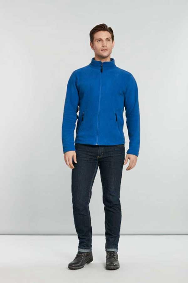 Flis Gildan Hammer Unisex Micro-Fleece Jacket