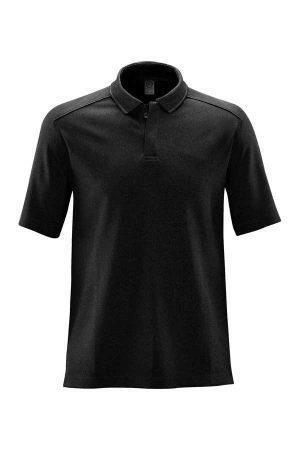 Polo majica kratek rokav Stormtech Endurance HD Polo Black/Dolphin