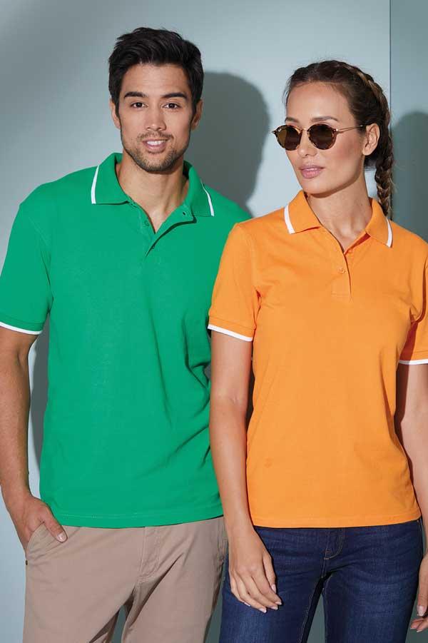 Polo majica kratek rokav J&N Piqué Polo Tipping