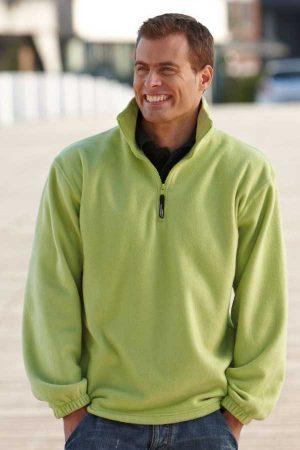 Flis J&N Fleece Pullover with 1/4 Zip