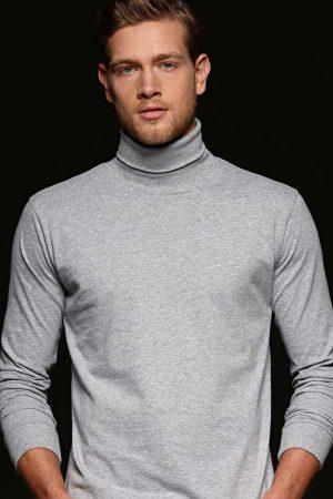 Majica dolg rokav (puli) J&N Rollneck Shirt