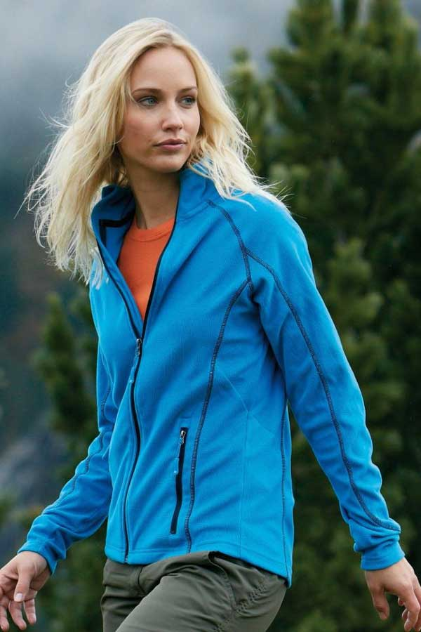Ženski flis J&N Ladies' Structure Fleece Jacket