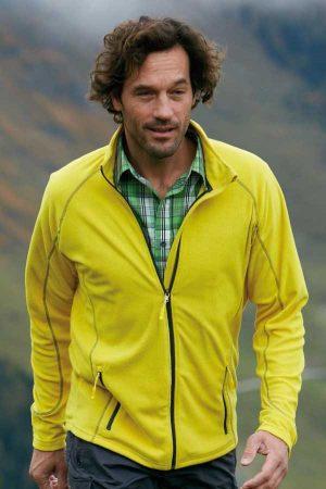 Flis J&N Men's Structure Fleece Jacket