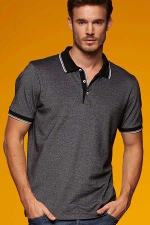 Polo majica kratek rokav J&N Men's Piqué Polo 2-Colored