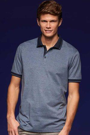 Polo majica kratek rokav J&N Men's Jersey Melange Polo