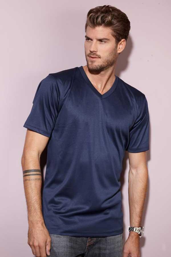 Športna majica kratek rokav J&N Men's V-Neck Sport T-Shirt