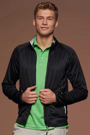 Flis J&N Men's Stretch Fleece Jacket