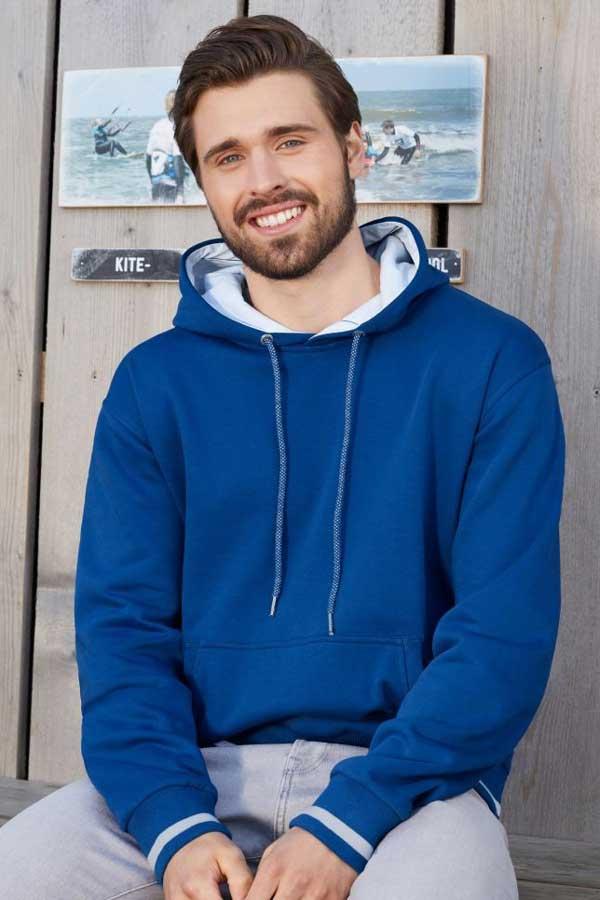 Pulover J&N Men's Club Hooded Sweatshirt