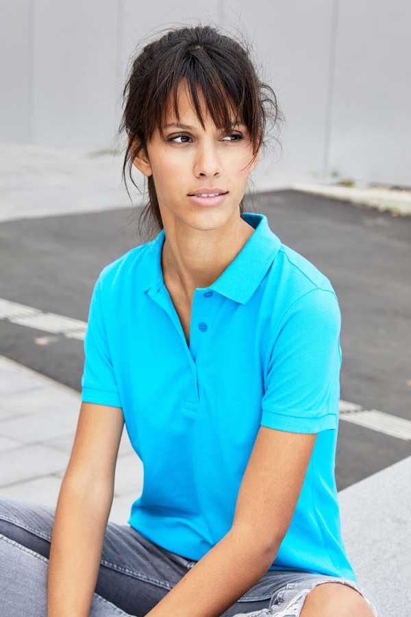 Ženska polo majica kratek rokav J&N Ladies' Piqué Polo