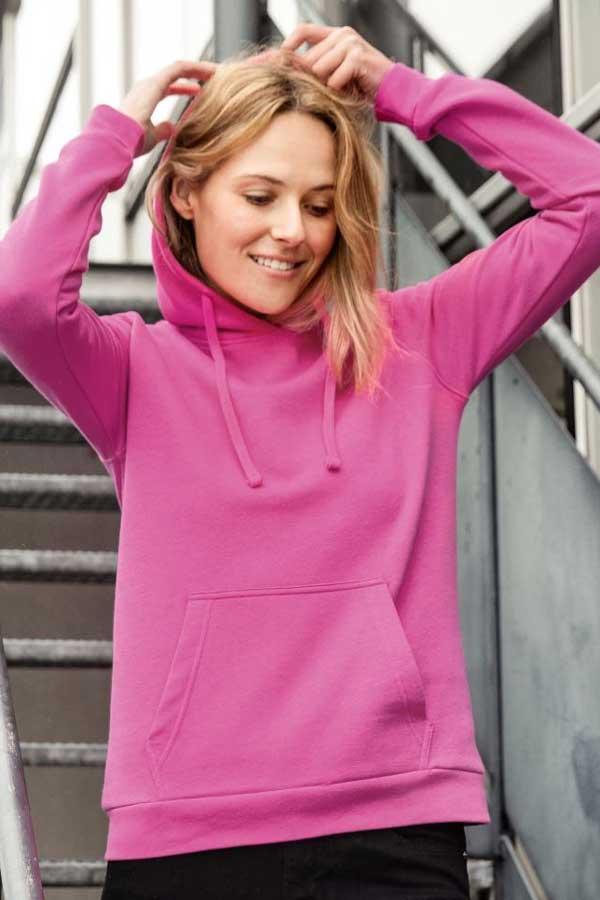 Ženski pulover J&N Ladies' Hooded Sweatshirt