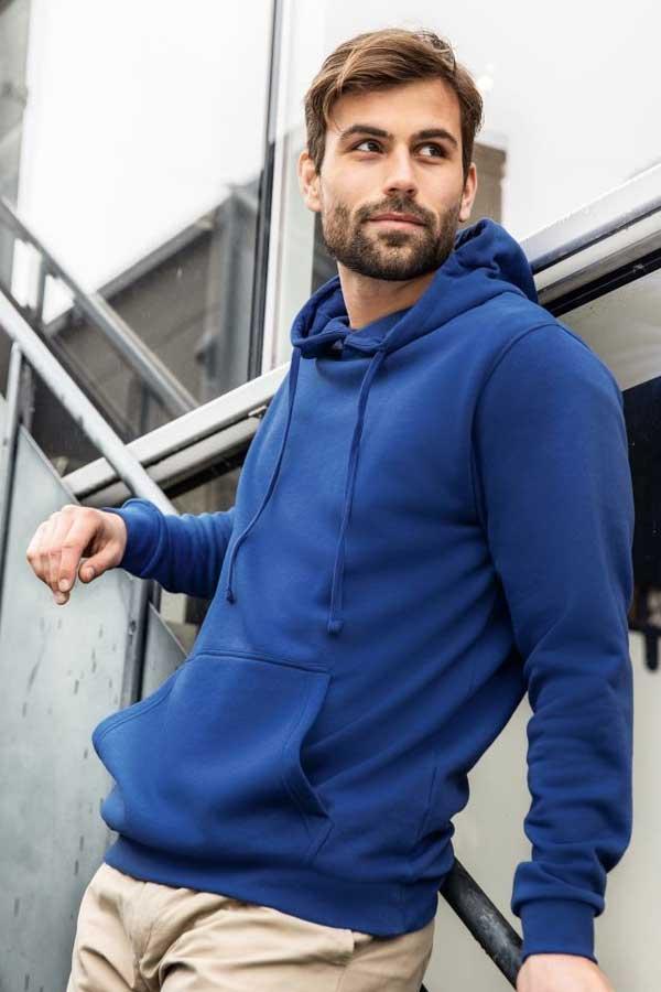 Pulover J&N Men's Hooded Sweatshirt