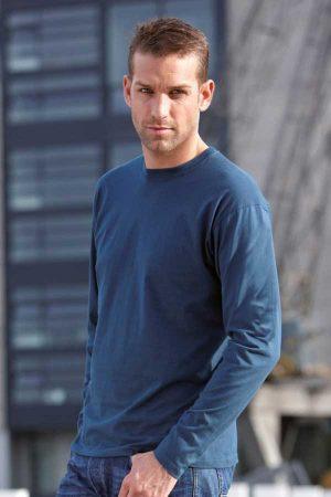 Majica dolg rokav J&N Stretch Men's T-Shirt Long-Sleeve