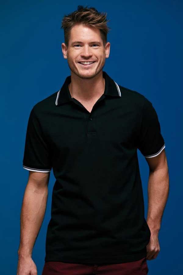 Polo majica kratek rokav J&N Men's Men's Coldblack® Piqué Polo