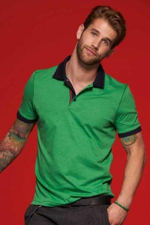 """Polo majica kratek rokav J&N Men's Slub Polo """"Urban"""""""