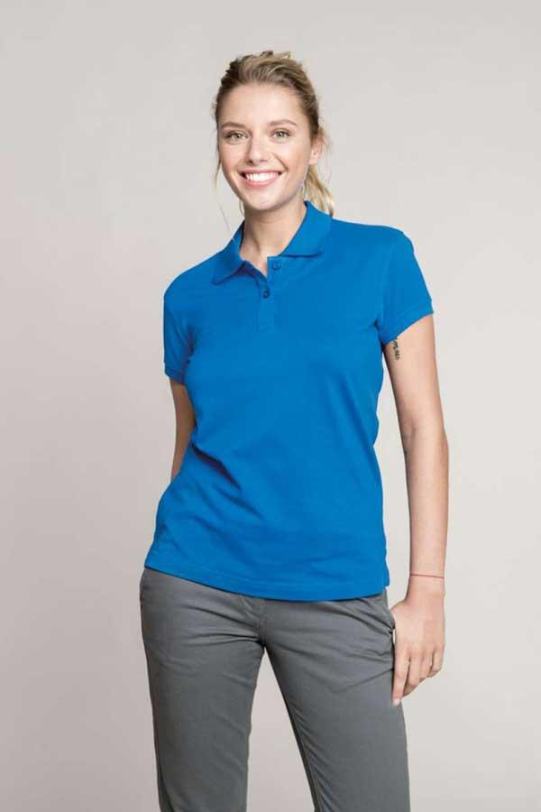 Ženska polo majica kratek rokav Kariban Ladies' Short Sleeved Polo Shirt