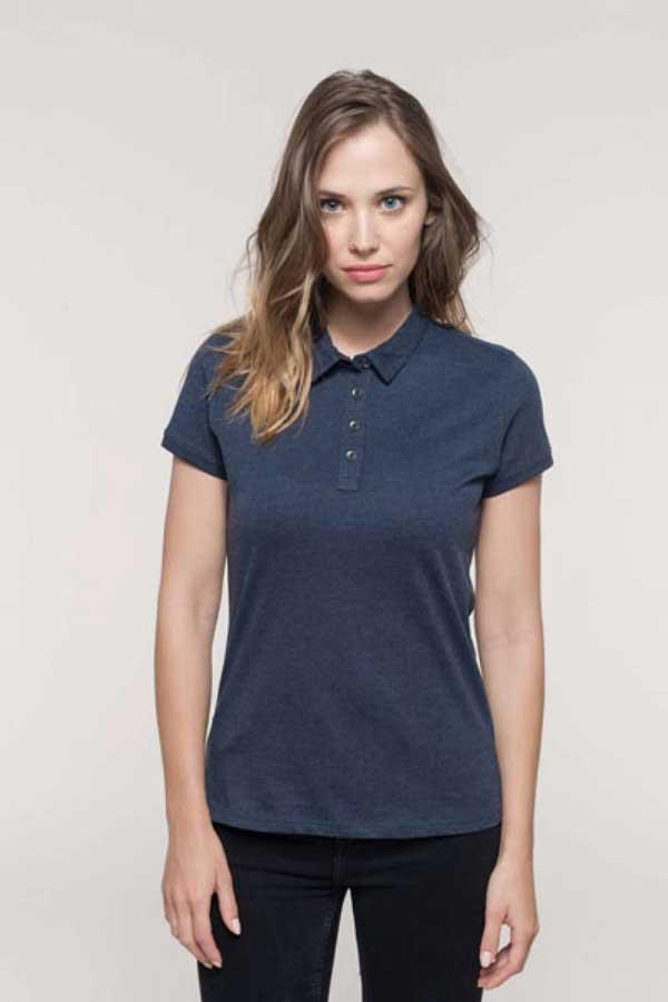 Ženska polo majica kratek rokav Kariban Ladies' Short Sleeve Jersey Polo Shirt