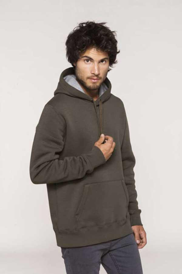 Pulover Kariban Hooded Sweatshirt