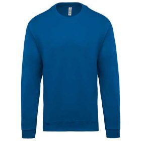 Pulover Kariban Crew Neck Sweatshirt Light Royal Blue