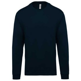 Pulover Kariban Crew Neck Sweatshirt Navy