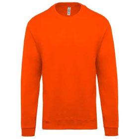 Pulover Kariban Crew Neck Sweatshirt Orange