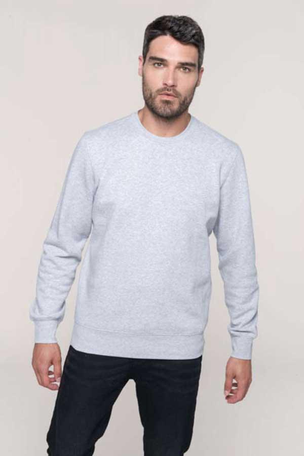 Pulover Kariban Crew Neck Sweatshirt