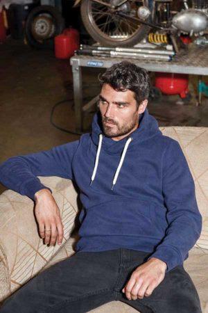 Pulover Kariban Vintage Hooded Sweatshirt