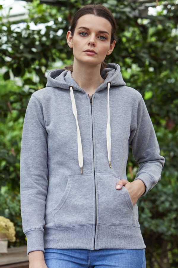 Ženski pulover Mantis Women's Superstar Zip Through Hoodie
