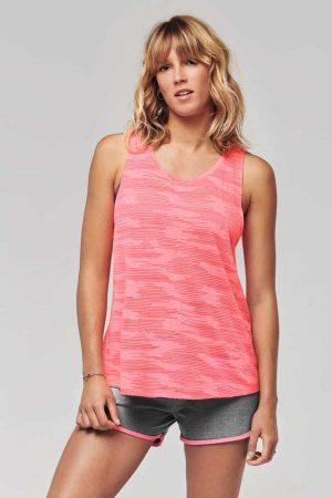 Ženska športna majica brez rokavov Proact Ladies' Sports Tank Top