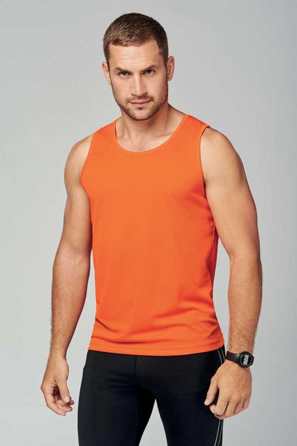 Športna majica brez rokavov Men's Sports Vest