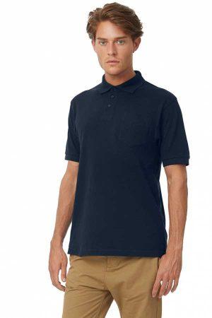 Polo majica kratek rokav B&C Safran Pocket Polo PU415