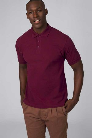 Polo majica kratek rokav B&C Heavymill Piqué Polo