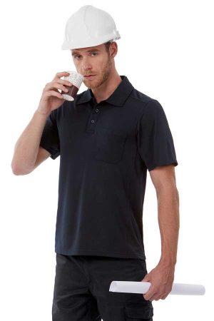 Delovna polo majica kratek rokav B&C Coolpower Pocket Polo
