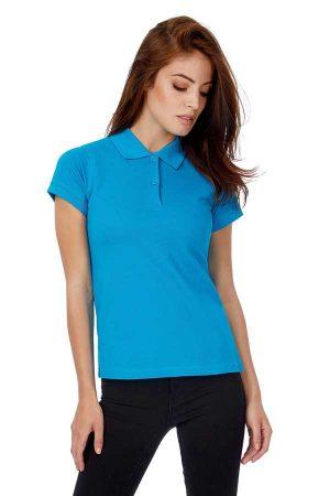 Ženska polo majica kratek rokav B&C Safran Pure/women Polo