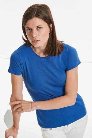 Ženska majica kratek rokav Russell R-155F Ladies' Slim T
