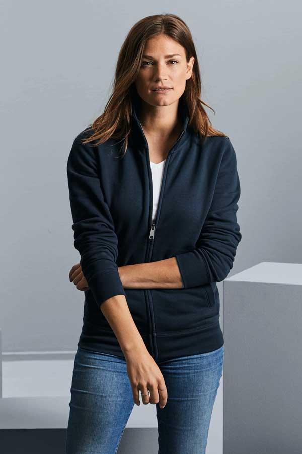 Ženski pulover Russell Ladies' Authentic Sweat Jacket