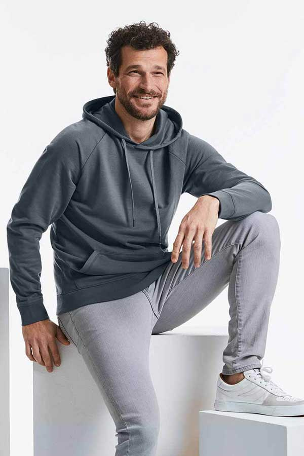 Pulover Russell Men's HD Hooded Sweat