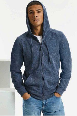 Pulover Russell Men's HD Zipped Hood Sweat
