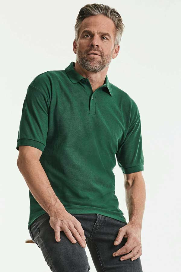 Polo majica dolg rokav Russell Men's Classic Polycotton Polo