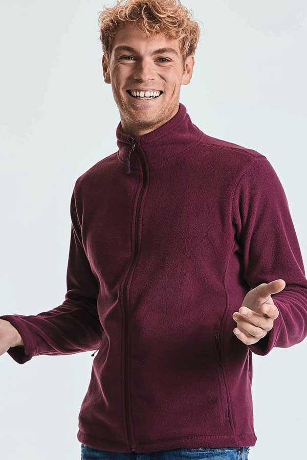 Flis Russell Men's Full Zip Outdoor Fleece